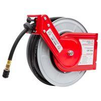 Метална стенна макара за маркуч за въздух Holzmann LSR15HQ  / 15 м /