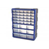 Шкаф органайзер с 39 чекмеджета HBM 8935 /38 x 16 x 47 cm  /