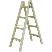 Стълба дървена Premium PREMIUMFIX / 1.50м,   4 стъпала /