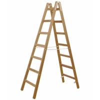 Стълба дървена Premium PREMIUMFIX / 2,50м,   7 стъпала /