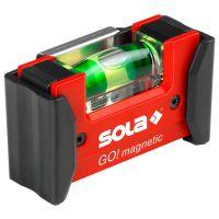 Нивелир мини Sola Go! magnetic / 75 мм /