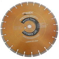 Диамантен диск за бетон Cimex RCP400/ 400 mm, 25.4 mm / + БЕЗПЛАТНА ДОСТАВКА