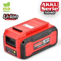 Акумулаторна батерия HECHT 005040B / DC 40 V, 4 Ah, от серията ACCU Program 40 V, Samsung клетки /