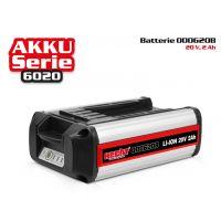 Акумулаторна батерия HECHT 000620B / DC 20 V, 2 Ah, от серията ACCU Program 20 V/