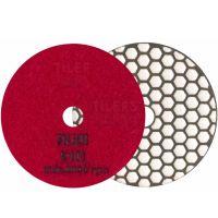 Диск диамантен за шлайфане на гранит, мрамор, камък и скални материали с гръб велкро Rubi   / ф 100 мм, P 400, с велкро гръб /