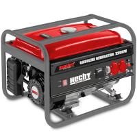 Бензинов монофазен генератор HECHT GG 2500 /2200 W, 15 l, ръчен старт/