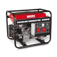 Бензинов монофазен генератор HECHT GG 3300 /3000 W, 15 l, ръчен старт/