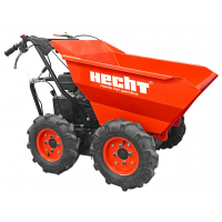 Моторен градински мини дъмпер HECHT 2636, 6.5 к.с., 300 кг