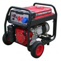 Бензинов монофазен генератор HECHT GG 5000 /4500 W, 28 l, ръчен старт/