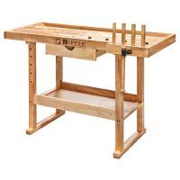 Дървена работна маса  Holzmann WB126  / с чекмедже и стяга,     1260x610x840 мм /