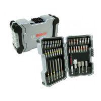 Комплект битове и гилзови ключове Bosch / 43 части /