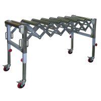Подвижно удължение за настолни машини с ролки  Holzmann  RB 9A /  9 ролки / 130 кг /