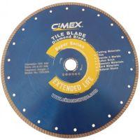 Диамантен диск за плочки и фаянс Cimex TBS230 / 230 mm, 22.23 mm / + БЕЗПЛАТНА ДОСТАВКА