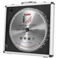 Комплект  T.C.T.  дискове Holzmann KSB254SET  / 3бр.    Ø 254 мм / 24T, 42T, 60T / 30 мм,   в алуминиева кутия /