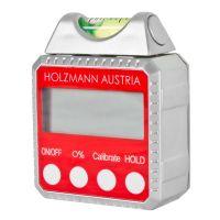 Дигитален нивелир Holzmann DWM90  / 50x50x25,   4x90° (0°-360°),    +-0,1° /