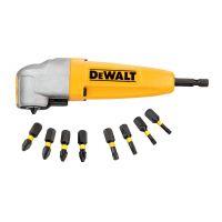 Приспособление за завиване под ъгъл и комплект накрайници с битове DEWALT DT71517T