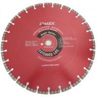 Диамантен диск за строителни материали Cimex CMS450 / 450 mm, 25.4 mm / + БЕЗПЛАТНА ДОСТАВКА