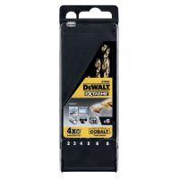 Кобалтови свредла за метал DEWALT DT4956 / 6 БР /
