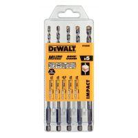 Универсални свредла с шестограмна опашка DEWALT DT60099  / 5 БР. /
