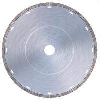 Диамантен диск за тънък гранит, гранитогрес, мраморни плочи, изкуствени и естествени камъни, плочки, керамика и гланцирани твърди изкуствени камъни Bavaria Tools /за настолни машини, Ø 230 мм/