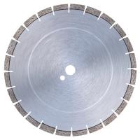 """Диамантен диск за гранит, твърди изкуствени камъни, бетон и армиран бетон Bavaria Tools /за настолни машини, Ø 350 мм, сегмент тип """"Turbo""""/"""