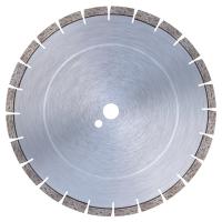 Диамантен диск за пясъчници, варовик, замазки, абразивни строителни материали, огнеупорни тухли, червени тухли, мек клинкер и асфалт Bavaria Tools /за настолни машини, Ø 300 мм/