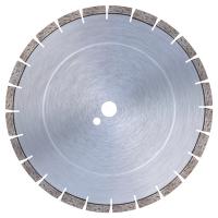 Диамантен диск за пресен бетон с метални фибри (max до 28 часа) Bavaria Tools /за моторни фугорези, Ø 350 мм, 40x3.2x8.5+1.5 със сегменти за защита на основата на диска/