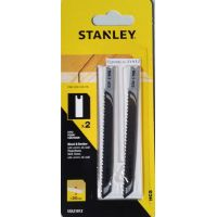 Ножчетата за прободен трион за дърво, талашит и пластмаси, за фино рязане  Stanley  STA21032 / U-захват и вид на материала HCS /