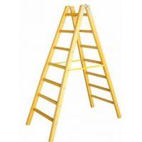 Дървена стълба PSDS / 7 стъпала, 222 см /