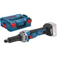 Акумулаторна права шлифовъчна машина Bosch GGS 18V-23 LC/18 V, в L-BOXX с комплект консумативи, без батерия и зарядно/