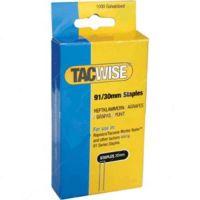 Телчета TACWISE 91 / 91/20 мм , 1000 бр. /