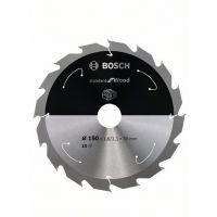 Диск за акумулаторни циркулярни триони Bosch Standard for Wood /Ø 190 x 30, T16 /