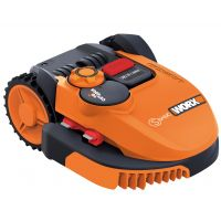 Косачка робот WORX Landroid S Basic WR093S / 20 V, Li-Ion, 2.0Ah, оранжев цвят /