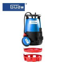 Комбинирана Потопяемата помпа  GUDE GS 751 3в1 / 750 W,     15 900 л/ч  /
