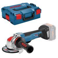 Акумулаторен ъглошлайф Bosch X-LOCK GWX 18V-10 C Professional / 18 V, 125 mm, L-BOXX 136, без батерия и зарядно /
