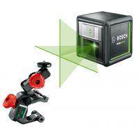 Лазерен нивелир BOSCH Quigo Green / увеличен обхват до 12 м.  500 – 540 nm,    зелен лъч /