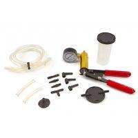 Комплект помпа вакуум за обезвъздушаване на спирачки и съединители HBM 9104 /14 части /