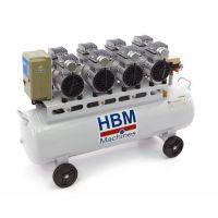 Професионален компресор безшумен, безмаслен HBM 6294 / 3000 W, 120 л /