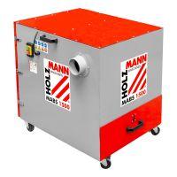 Метален прахоуловител Holzmann MABS1500   / 400V,       1500 W,     ø100,      1500 m3 / h /