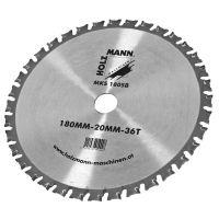 Диск за циркуляр Holzmann MKS180SB / TCT,   180x20mm,     36 T /
