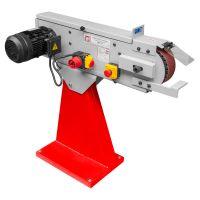 Настолен лентов шлайф за метал  Holzmann   MSM75    / 400V,   3000 W,     2000x75 mm /