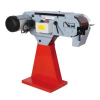 Настолен лентов шлайф за метал Holzmann   MSM150    / 400V,     4000 W,     18/37 m/s,     2000x150 mm /