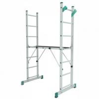 Стълба алуминиева професионална, мини скеле PSDS / 2x7 /