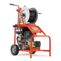 Моторна водоструйна машина за почистване на канали RIDGID KJ-3100 /16 HP, 50 - 250 mm/