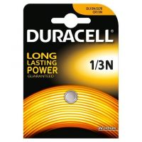 Батерия литиева Duracell / CR1/3N, 2L76, 3 V, 1 брой/