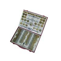 Комплект плашки и метчици Holzmann GBM110TIN, 110 бр