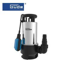 Помпа за изпомпване на замърсена вода потопяемата GUDE  GS 1103 PI / 1100 W,    8m,   20 000 l/h/