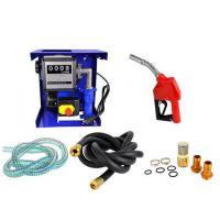 Електрическа помпа за дизелово гориво и масло с брояч и пистолет GEKO G01023 / 950 W, 40 л/мин / със стопер