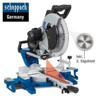 Потапящ циркуляр за ъглово рязане Scheppach HM140L / 2000 W,   305 мм/