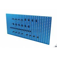Стена стелаж за инструменти HBM ERRO  / 36 куки,   980 x 460 mm./